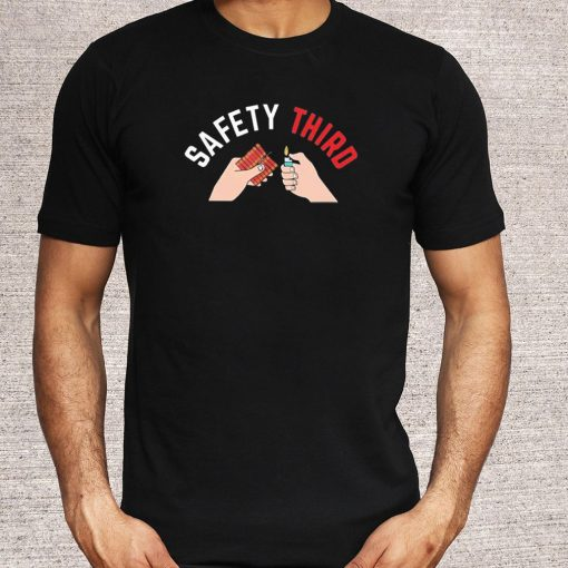 4th Of July Patriotic Fireworks Safety Third Shirt 5