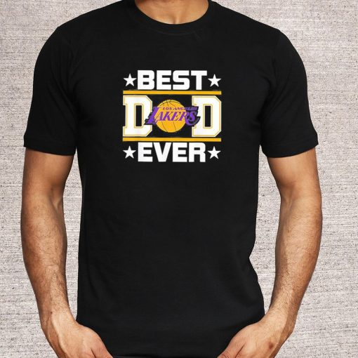 Best Lakers Dad Ever T Shirt