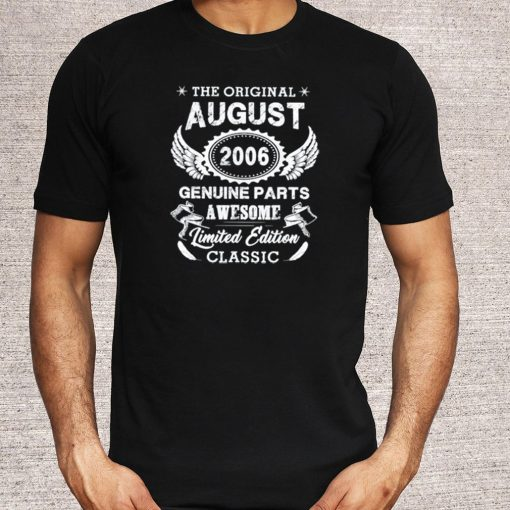 The Original August 2006 Genuine Parts Awesome limited edition T-Shirt 5