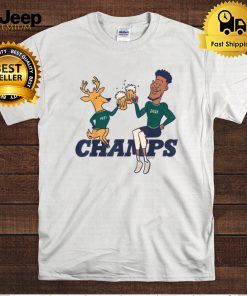 Cheers to the Deer Champions 2021 Beer Funny Gift T Shirt