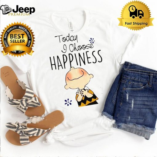 Today I Choose Happiness Snoopy Shirt