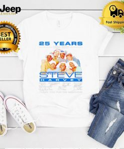 25 years 1996 2021 Steve Harvey thank you for the memories shirt