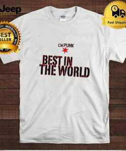 Cm Punk Best In The World Authentic Wwe T hoodie, tank top, sweater