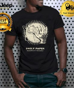 Daily Paper From Africa To The World T shirt