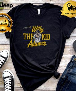 Milwaukee Brewers Willy Adames Willy The Kid Adames Shirt