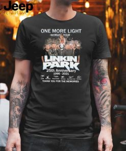 One More Light World Tour Linkin Park 25th Anniversary 1996 2021 Thank You For The Memories shirt