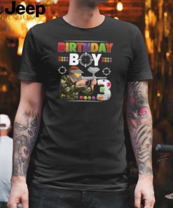 Paintball Boy player Birthday Party T Shirt