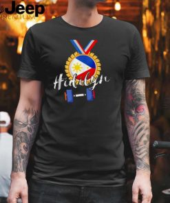 Philippines Weightlifting First Ever Gold Hidilyn T Shirt
