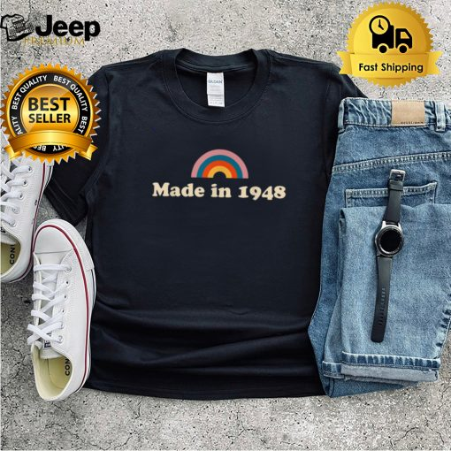 Retro 1948 73rd Birthday For 73 Year Old shirt
