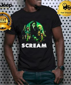 Scream Movie Lets Watch Scary Movies Shirt