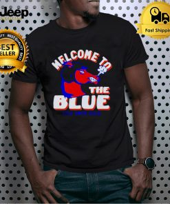 Boise State Broncos welcome to the blue lyte smith field shirt