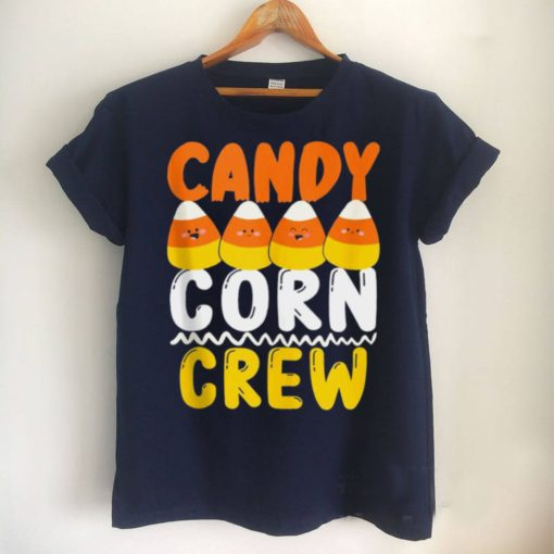 Candy Corn Crew Matching Group Scary Halloween Costume Shirt