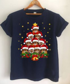 Cat Ring The Christmas Bell For Cat Lover T shirt