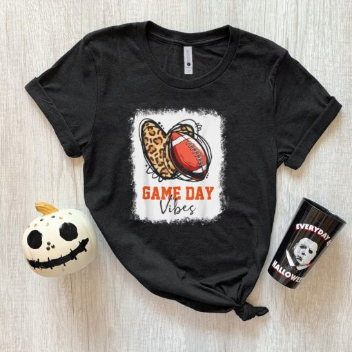 Football Game Day Vibes T Shirt
